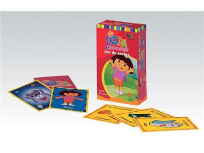 UNIVERSITY GAMES - Dora jeu de cartes