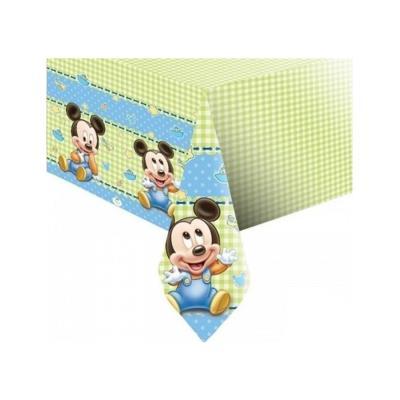 Nappe Mickey bébé (120 x 180cm)