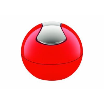 Spirella 10.14967 bowl poubelle polystyrol 1 l rouge