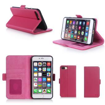 coque cuir rose iphone 7 plus