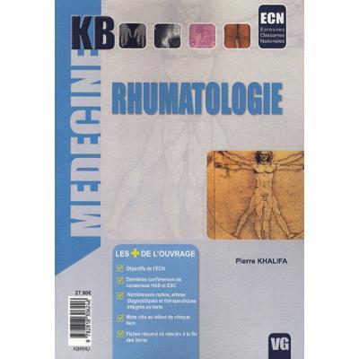 Rhumatologie. ECN