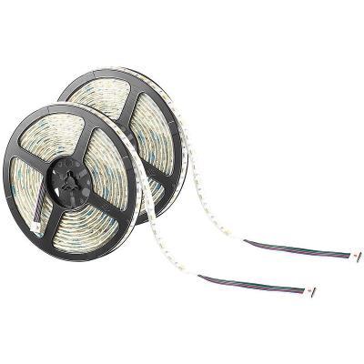 2 bandes lumineuses 300 LED SMD (RVB + blanc), 5 m ''LX-500A'' - extérieur