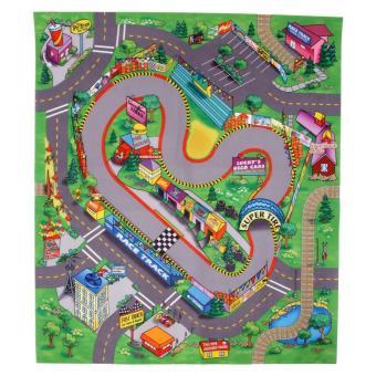 Majorette Tapis De Jeu Circuit De Course 70x80 Cm Voiture
