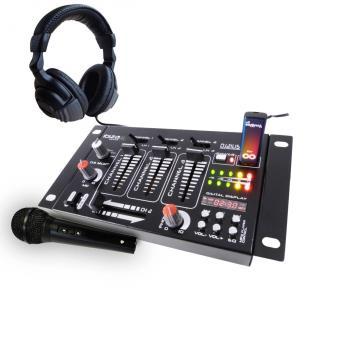 Pack table de mixage 4 voies 7 entr es usb casque - Table de mixage en ligne gratuit ...