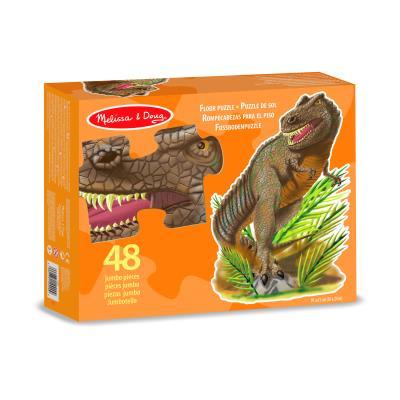 Puzzle en forme de tyrannosaurus Rex 48 pièces