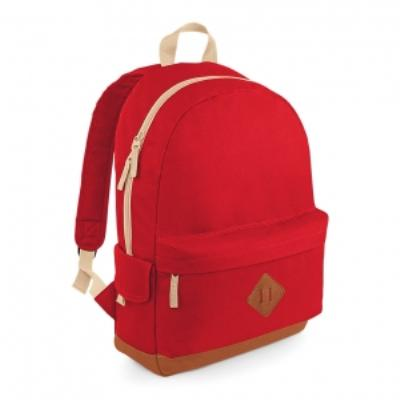 Sac à dos loisirs style rétro Heritage Backpack - BG825 - rouge