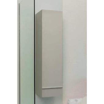 Aqua+ - colonne salle de bain taupe à suspendre haut. 120cm livré ...