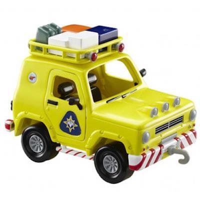 Sam Le Pompier - Le 4x4 de Secours en Montagne - Véhicule 13 cm