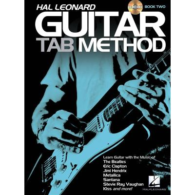 Hal leonard guitar tab method book 2 cd