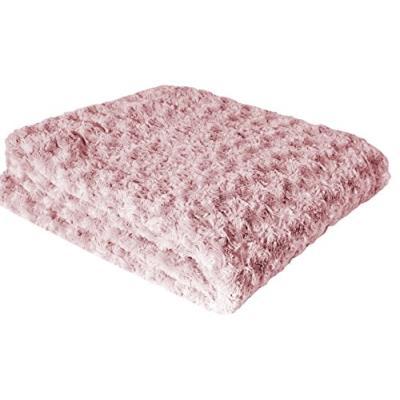 Couleur montagne 3006283 plaid polyester rose 130 x 160 x 160 cm