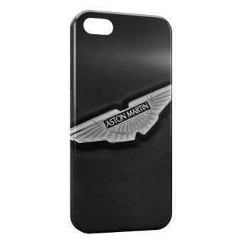coque iphone 7 aston martin logo grey black etui pour t l phone mobile achat prix fnac. Black Bedroom Furniture Sets. Home Design Ideas