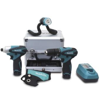 Coffret Makita 3 Machines Et Lampe Offerte Dk1486x Packs