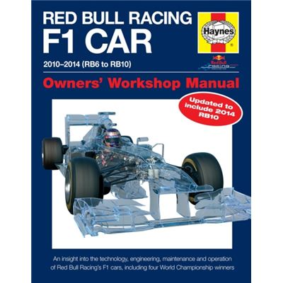 Red Bull Racing F1 Car Manual 2Nd Edition: 2010-2014 (Rb6 To Rb10) (Owners' Workshop Manual) (Hardcover)
