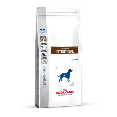 Croquettes royal canin veterinary diet gastro intestinal pour chiens sac 2 kg