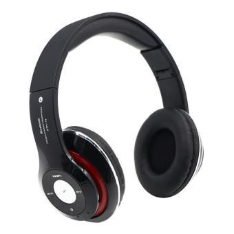 4 en 1 multifonction casque audio bluetooth sans fil st r o couteurs sport musique radio mp3. Black Bedroom Furniture Sets. Home Design Ideas