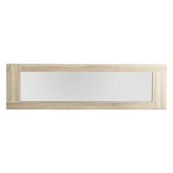 Miroir mural rectangulaire en bois L190xP4xH54cm OAK Achat & prix