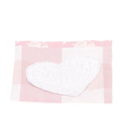 therese accessoires rosetta petite poche rose 12 x 12 cm