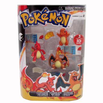 Pokemon Pack Evolution Salameche Reptincel Dracaufeu
