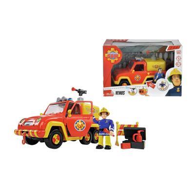 Speelight Goed 79403 - Pompier Sam Venus Brandweerauto Avec Figurine Multicolore
