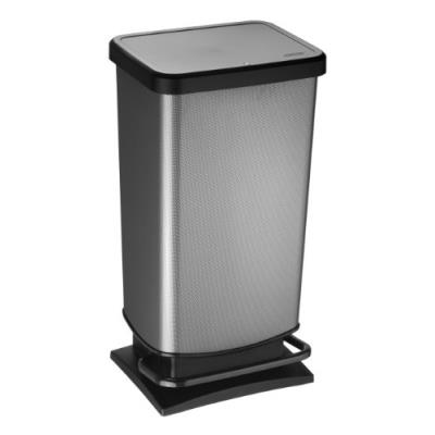 Sundis rotho 7541010 paso poubelle 40 l plastique carbone 35,3 x 29,5 x 67,6 cm