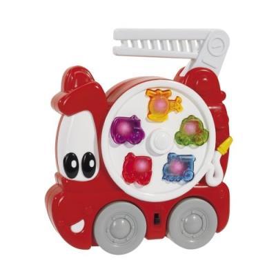 Simba toys-abc 104015136 en forme de camion de pompier avec poignée
