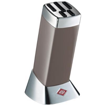 Wesco classic line bloc pour couteaux de cuisine gris