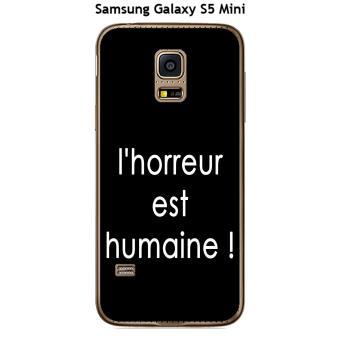 coque samsung galaxy s5 mini noir