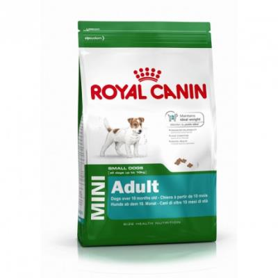 Croquettes royal canin mini adulte sac 8 kg