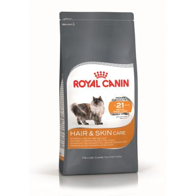 Croquettes pour chats royal canin hair et skin 33 sac 4 kg