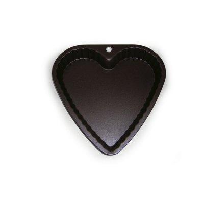Gobel - Moule métal anti-adhérent - Coeur fond fixe 23 cm