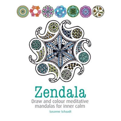Zendala: Draw and colour meditative mandalas for inner calm - [Livre en VO]