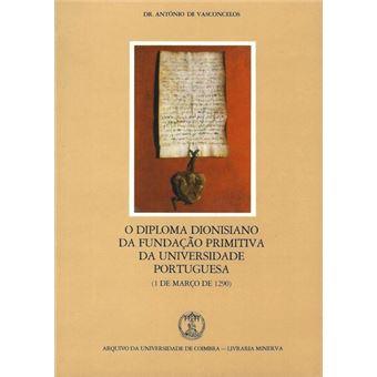 O diploma dionisiano da fundacao pr