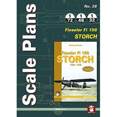 Scale Plans No. 28: Fieseler Fi 156 Storch - [Livre en VO]