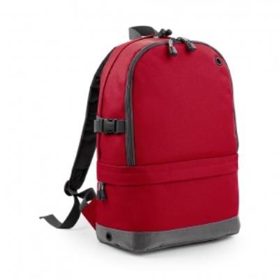 Sac à dos sport avec compartiment pour ordinateur - BG550 - rouge