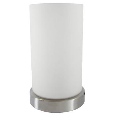 Wofi 830701640170 loft lampe touch 60 w e14 nickel mat