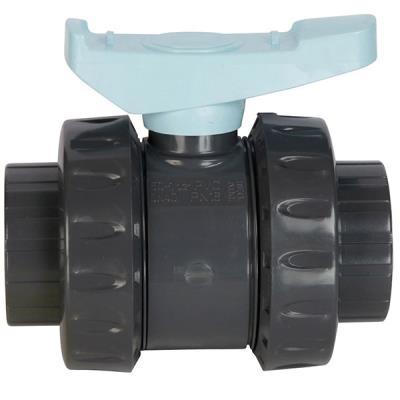 Vanne pvc double union - 50mm pn16 Astore AST50