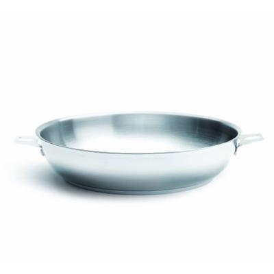 DeBuyer - Poêle à frire inox - Twisty : ø 24