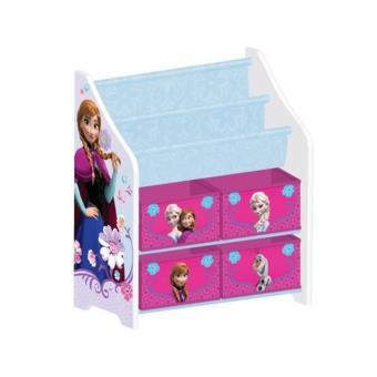 la reine des neiges meuble de rangement enfant bibliotheque armoire b b achat prix fnac. Black Bedroom Furniture Sets. Home Design Ideas