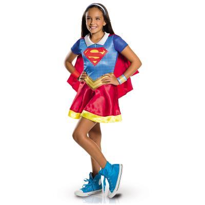 Déguisement Supergirl : DC Super Héros Girls : 7/8 ans Rubie's