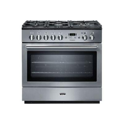 Falcon Professional + FX 90 - cuisinière - pose libre - 90 cm - inox