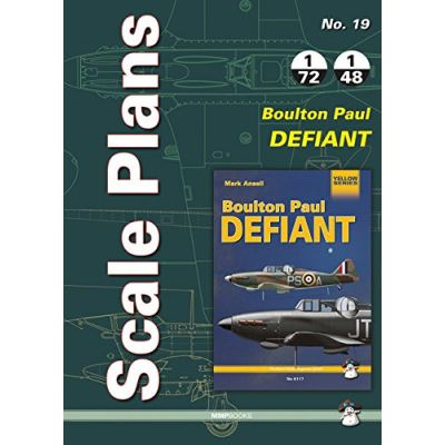 Scale Plans No. 19 Boulton Paul Defiant - [Livre en VO]