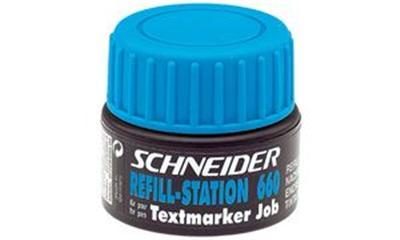 SCHNEIDER - unité de recharge 660 bleu, contenu: 30 ml
