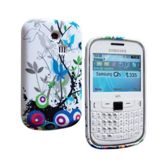 Housse SoftyGel Flower pour Samsung Chat 335 S3350