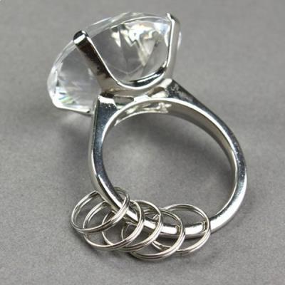bague diamant anneau transparent