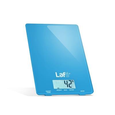 Lafe wks001.4 balance de cuisine électronique avec un design fin et élégant (bleu) lafwag44597