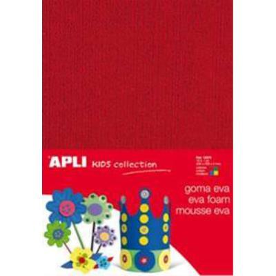 Mousse caoutchouc aspect serviette - 4 couleurs - A4