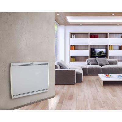 voltman radiateur électrique inertie fonte 2000w lcd programmable
