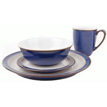 site réputé 9ab3e 93243 DENBY COFFRET SERVICE DE TABLE 16 PIÈCES (BLEU)