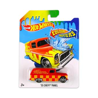 voiture hot wheels colour shifters vhicule 55 chevy panel hot wheels achat prix fnac - Voitures Hot Wheels