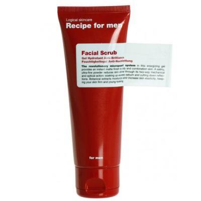 Recipe for Men - Gommage pour le visage - 125 ml